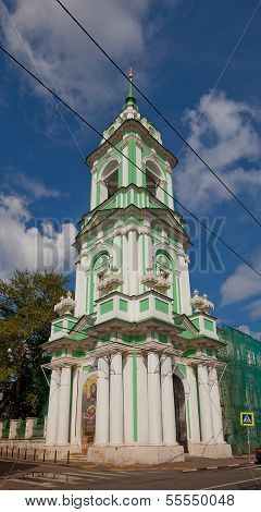 Beheading Of St. John The Baptist Church (xviii C.). Moscow, Russia