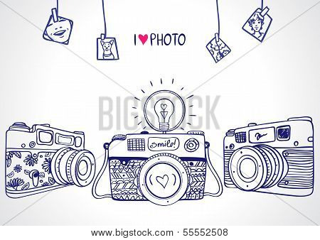 Kamera-silhouette