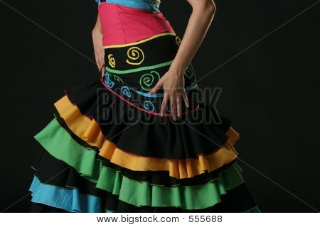 Flamenco Dancer Dress
