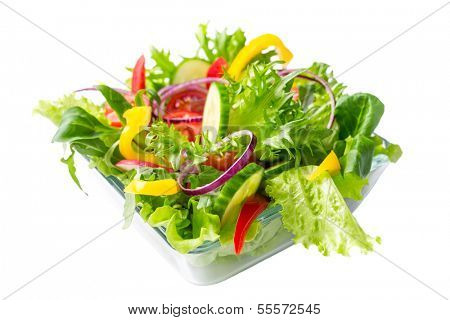 fresh healthy vegetable salad