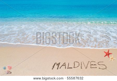 Turquoise Foreshore With