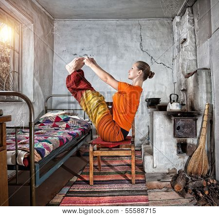 Yoga In Russian House