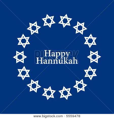 Vector Hanukkah Background