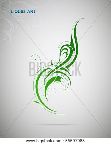 Graphic Design Element. Plant