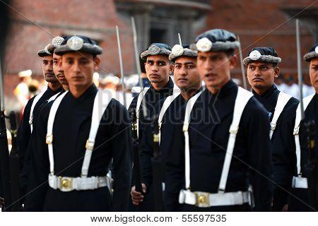The Royal Guard Division Of Nepal