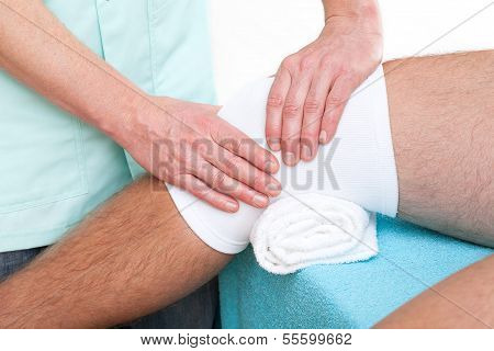 Knee Joint Massage