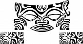 pic of indian totem pole  - Illustration  - JPG