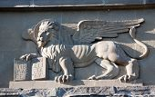 Venetian Winged Lion Bas-relief
