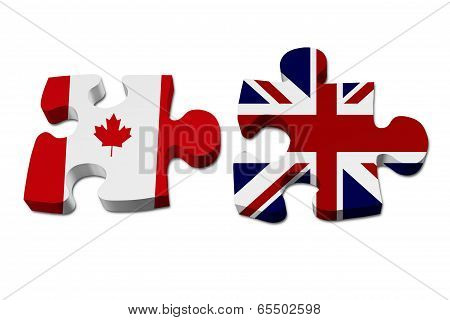 Canada Working With England