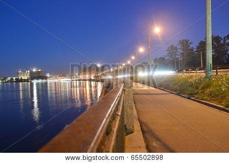 Quay Obukhov Defense At Night