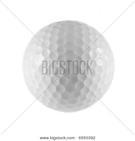 Photo Of Isolated Golf Ball.