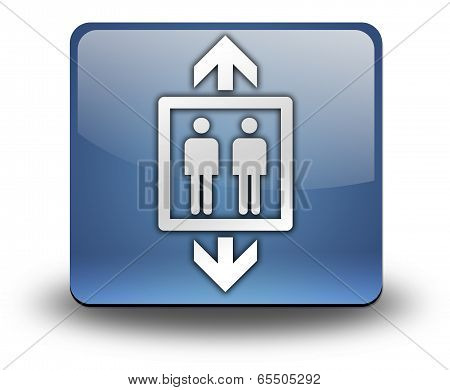 Icon, Button, Pictogram Elevator