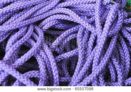Purple rope