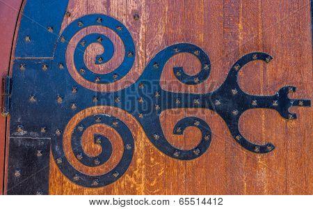Medieval Door Hinge