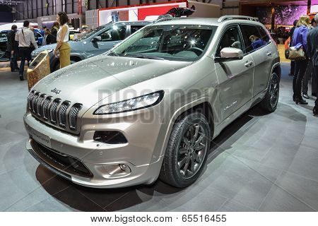 Jeep Cherokee At The Geneva Motor Show