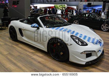 Ruf Porsche At The Geneva Motor Show