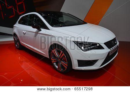 Seat Leon Cupra At The Geneva Motor Show