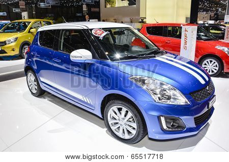 Suzuki Swift At The Geneva Motor Show