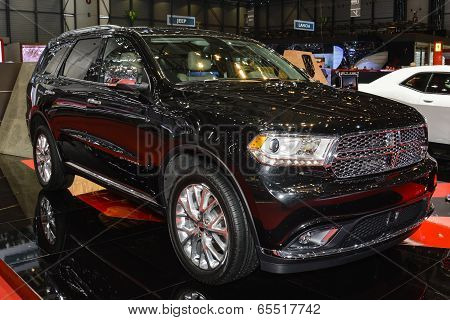 Dodge Durango At The Geneva Motor Show