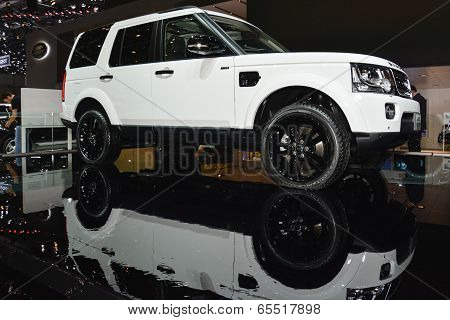 Range Rover Sport Suv At The Geneva Motor Show