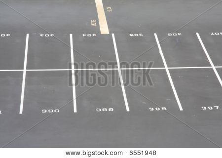 Fila del estacionamiento