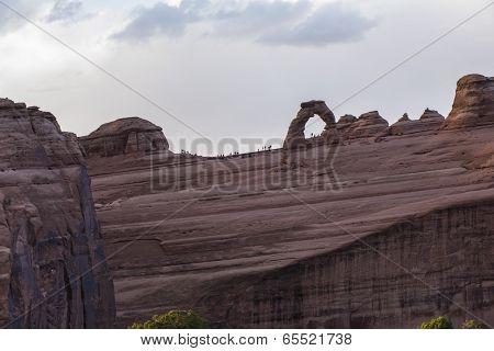 Delicate Arch Overlook