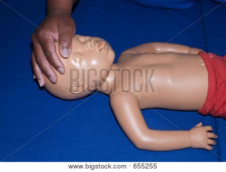 Child CPR Dummy