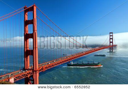 The Golden Gate Bridge In San Francisco, Usa