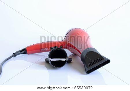 Red Hairdryer