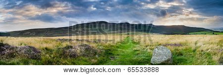 Simonside Ridge Panorama
