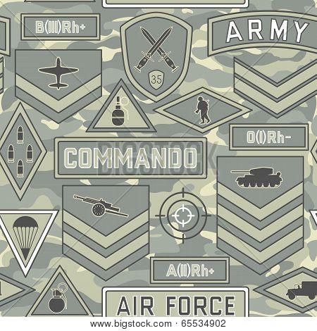 Seamless Military Pattern 11
