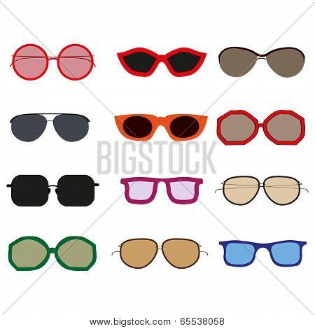 Set Of eyewears
