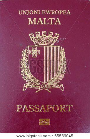 European Union passport front cover