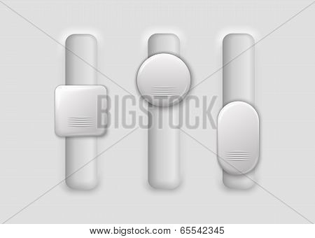 Three Vertical Switches