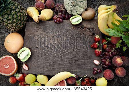 Fruit Background.