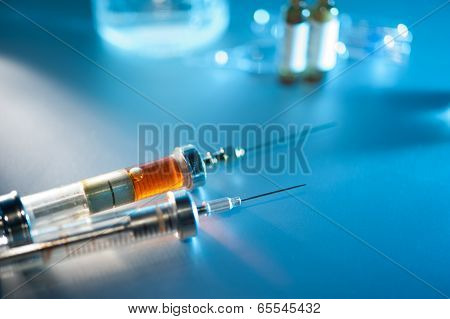 Two Syringe With Drug