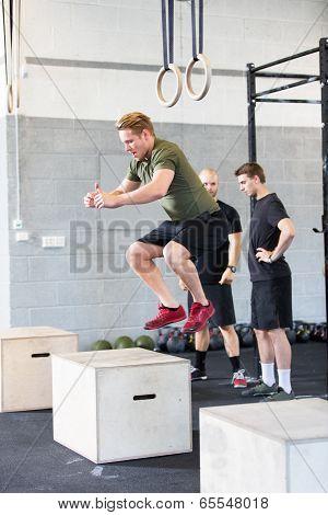 box jump traning