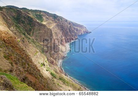 Ponta Do Pargo South Coastline, Madeira