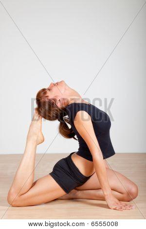 Yoga (pigoen Pose)