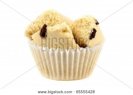 Cotton Wool Cup Cake