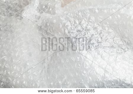 Crumpled Bubble Wrap