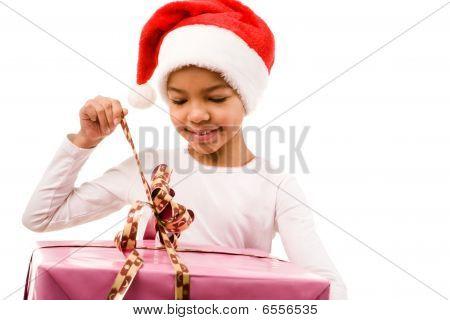 Opening Giftbox