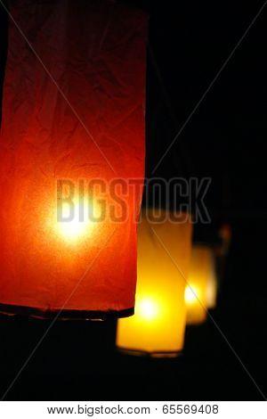 Lamps colour