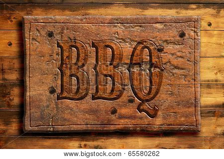 barbecue signboard