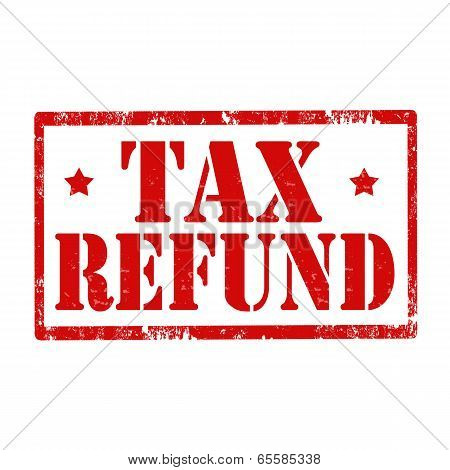 Tax Refund-stamp
