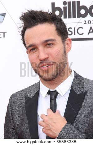 LAS VEGAS - MAY 18:  Pete Wentz at the 2014 Billboard Awards at MGM Grand Garden Arena on May 18, 2014 in Las Vegas, NV