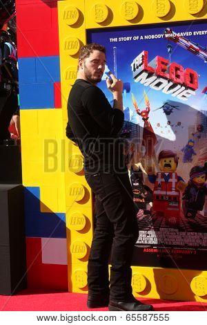 LOS ANGELES - FEB 1:  Chris Pratt at the