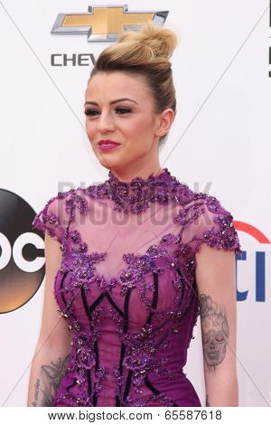 LAS VEGAS - MAY 18:  Cher Lloyd at the 2014 Billboard Awards at MGM Grand Garden Arena on May 18, 2014 in Las Vegas, NV