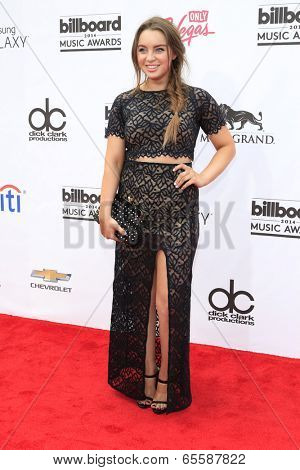 LAS VEGAS - MAY 18:  Alexa Losey at the 2014 Billboard Awards at MGM Grand Garden Arena on May 18, 2014 in Las Vegas, NV
