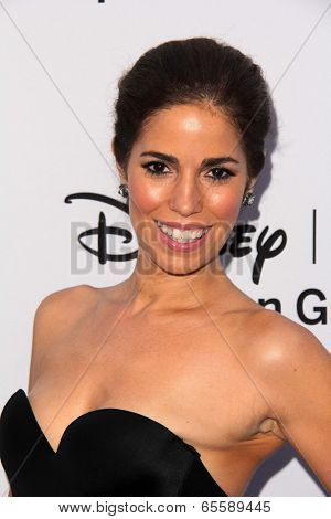 LOS ANGELES - MAY 19:  Ana Ortiz at the Disney Media Networks International Upfronts at Walt Disney Studios on May 19, 2013 in Burbank, CA